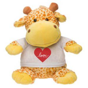 Knuffel grote giraffe